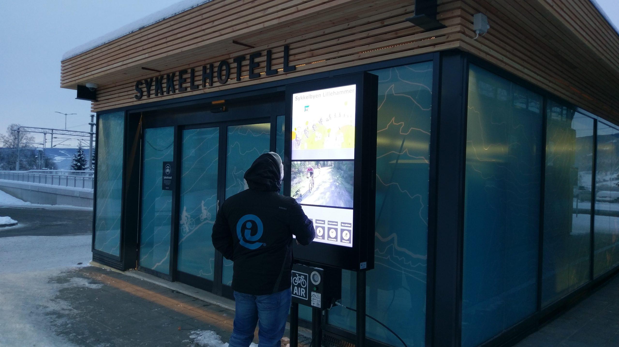 Procon Digital Sykkelkiosk - Lillehammer kommune