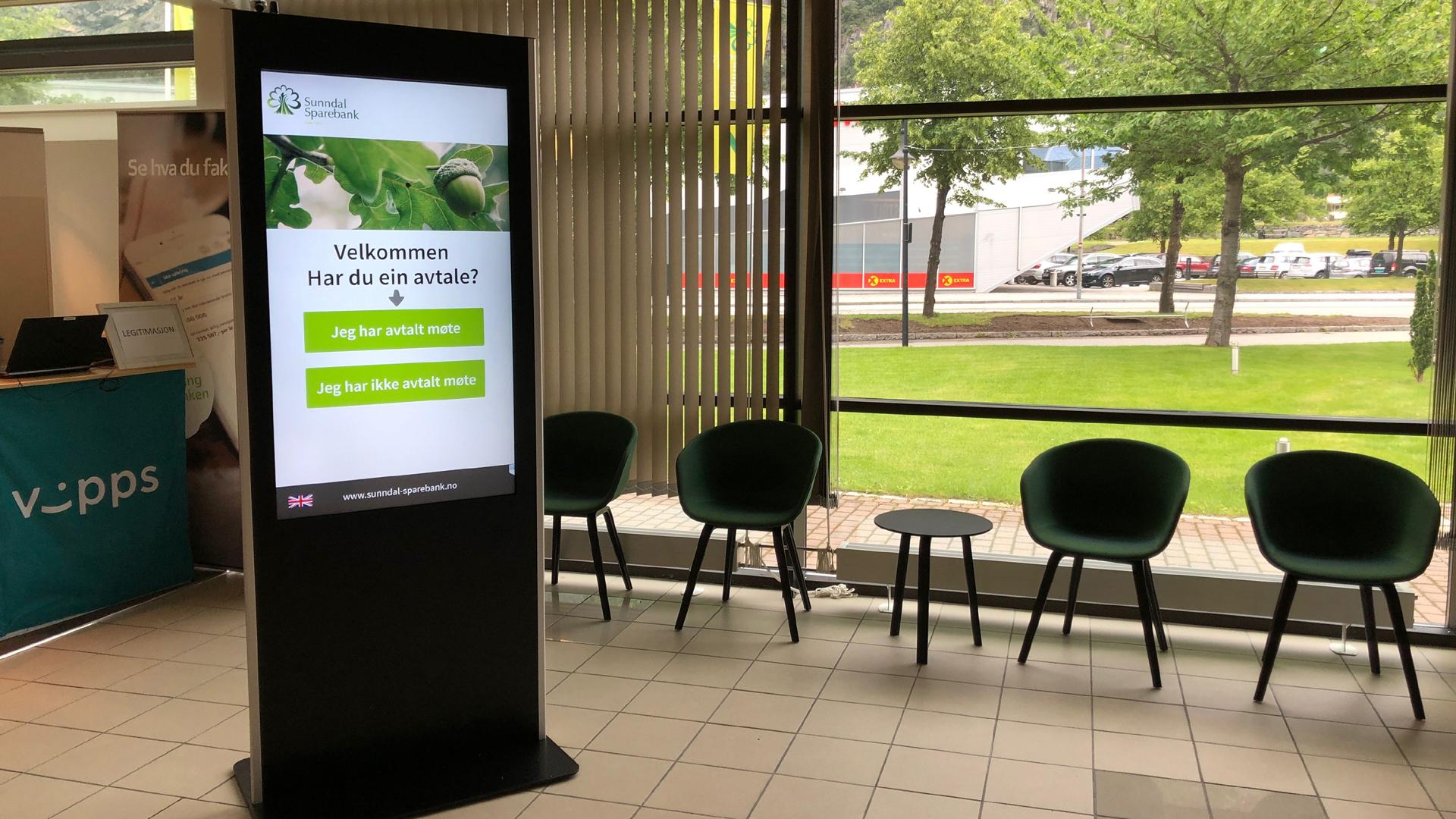 Procon Digital BankVert gir effektivt kundemottak i banken